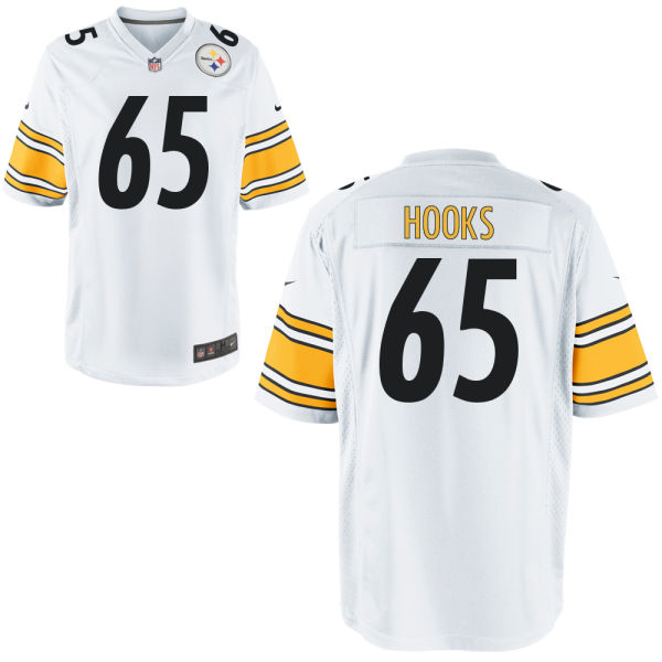 Lavon Hooks Nike Pittsburgh Steelers Limited White Jersey