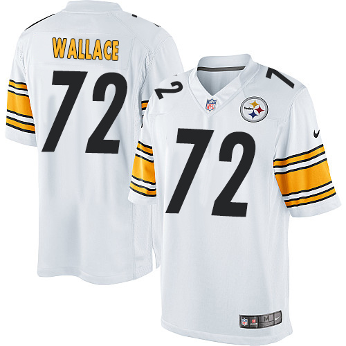 Cody Wallace Nike Pittsburgh Steelers Limited White Jersey