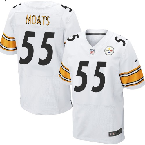 Arthur Moats Nike Pittsburgh Steelers Elite White Jersey